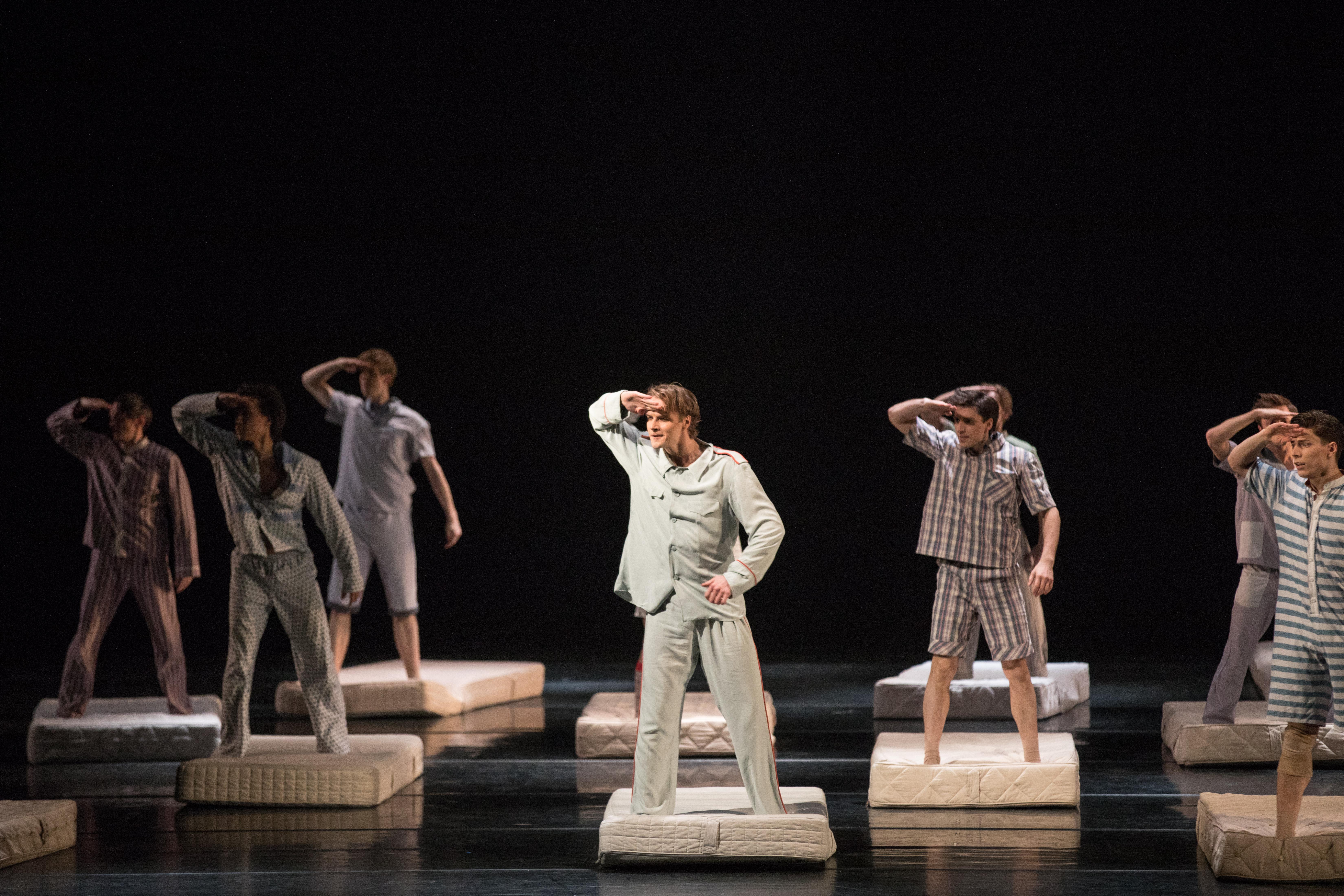 Конкурсный набор в балетную труппу МАМТ