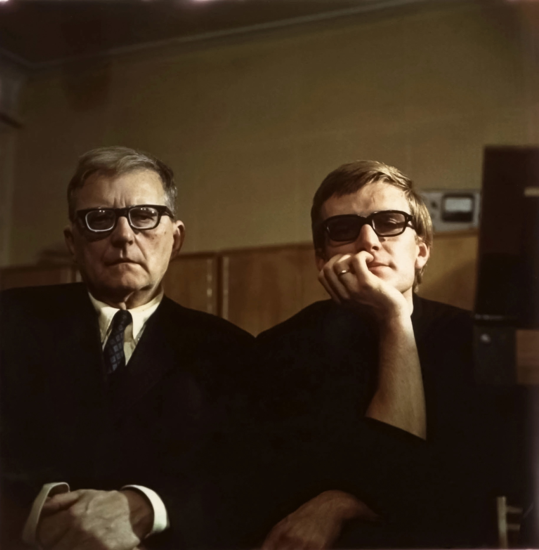 Встреча с М.Д. Шостаковичем